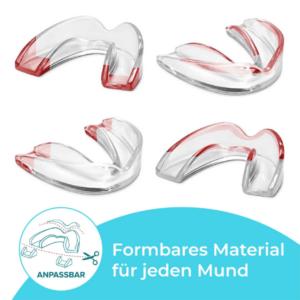 Bruxima Zahnschienen schneidbares Material