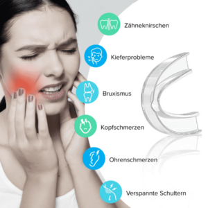 Bekämpfung von Aauswirkungen des Zähneknirschens durch Bruxima